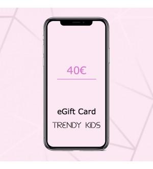 Ηλεκτρονική Δωροκάρτα - 40
