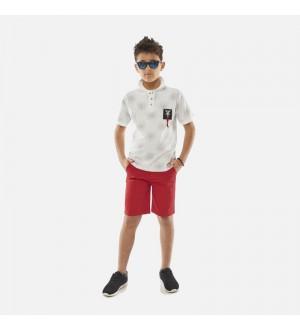 Hashtag Μπλούζα Πόλο Αγόρι